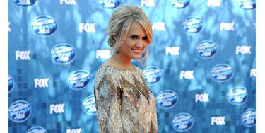 """If you've got great gams, show them off in a sexy mini. And for the fall season, balance out the shorter skirt length with longer sleeves—the style looks modern and it'll keep you at least a <i>little</i> warmer in the cool weather. We love how Carrie Underwood was perfectly proportioned in this <a href=""""http://lorenasarbu.com/#awp::collections/pre-fall-2011""""target=""""_blank"""">Lorena Sarbu</a> version."""