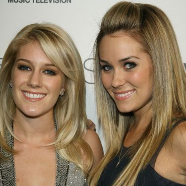 """<b>Where Are They Now?</b><br />Having a cordial but cool exchange at a Brody Jenner party. <br /><br /><b>...And a Year from Now?</b><br />Giving each other a fourth chance. Back when Lauren was LC and Heidi had her real nose, chin, lips, boobs, butt, and soul, we really did love this pair. They were loyal, had giggly fun prowling for guys in da club, and said things like, """"I'm so proud of you!"""" (and meant it) when one scored a new job or promotion. Now that """"fame"""" hasn't quite worked out so well for Heidi, (and by """"hasn't quite worked out so well"""", we mean she's broke and living with Spencer's parents), we have a feeling that Speidi's days are numbered. And once crazy-pants Pratt is out of the picture, we think a Heidi/Lauren comeback could be in the cards."""