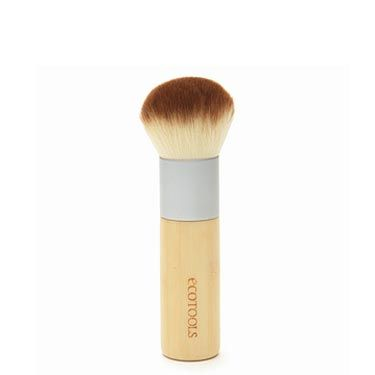 """If you're a makeup junkie, then go buy yourself a bronzer brush!"" says McGrath. ""But a regular blush brush works just as well."" Bronzer brushes have more bristles and they're packed tightly together so you get more color with each swipe.  
