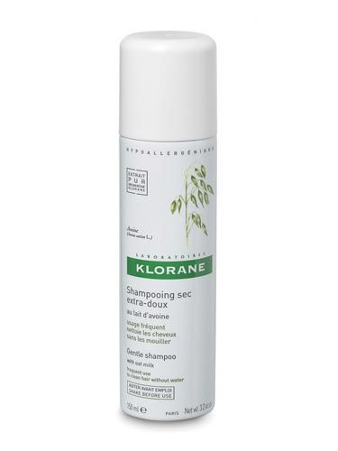 Made with oat extract, this option soothes your scalp—it's great for anyone prone to itchiness or sensitive skin.&#10;&#10;  &#10;&#10;Klorane Gentle Dry Shampoo, $19.50, <a href=&quot;http://www.amazon.com/gp/product/B001QOVUR6/ref=as_li_ss_tl?ie=UTF8&amp;tag=cosmopolitan-20&amp;linkCode=as2&amp;camp=217145&amp;creative=399349&amp;creativeASIN=B001QOVUR6&quot;>amazon.com</a><img src=&quot;http://www.assoc-amazon.com/e/ir?t=&amp;l=as2&amp;o=1&amp;a=B001QOVUR6&amp;camp=217145&amp;creative=399349&quot; width=&quot;1&quot; height=&quot;1&quot; border=&quot;0&quot; alt=&quot;&quot; style=&quot;border:none !important; margin:0px !important;&quot; />