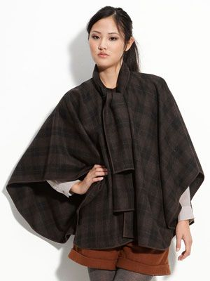 "Forget buying a new coat and pick up a cape instead. It will instantly make whatever else you're wearing look 100 times more stylish.  <br /><br /> Aryn K Tie Front Cape, $98, <a href=""http://shop.nordstrom.com/s/aryn-k-tie-front-cape/3219485?origin=category&resultback=459""target=""_blank"">nordstrom.com</a>"