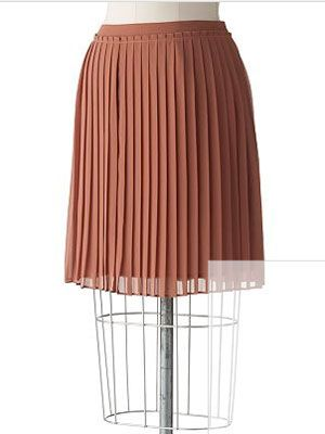 """If you need a new skirt that you can wear with anything, try a pretty, ladylike pleated version in a sexy length. <br /><br />LC Lauren Conrad Pleated Chiffon Skirt, $32.50, <a href=""""http://www.kohls.com/kohlsStore/womens/skirts/PRD~913502/LC+Lauren+Conrad+Pleated+Chiffon+Skirt.jsp""""target=""""_blank"""">kohls.com</a>"""