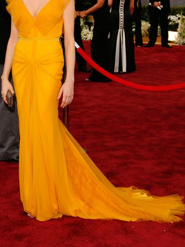 She made a style splash in Vera Wang at the 2006 Oscars.