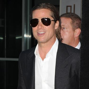 ...just make sure they're the <i>right</i> shades. Brad Pitt looks awesome pairing slightly retro-looking aviators with a jacket with wide lapels. Think about the style you're going for and then pick the sunglasses to match.