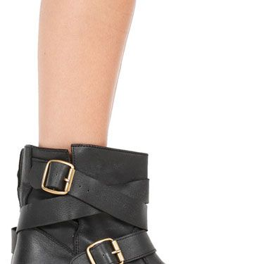 "Jeffrey Campbell Short Rouges Boot, $249.95, <a href=""http://www.singer22.com/rouges-sh.html""target=""_blank"">singer22.com</a>"