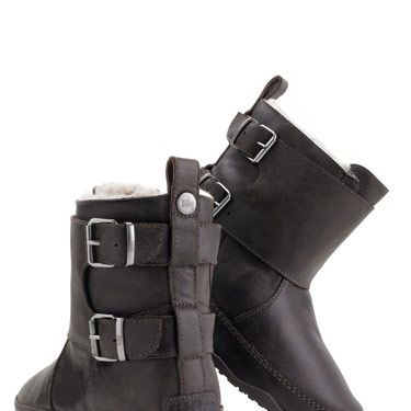 "FitFlop Byker Boot, $225, <a href=""http://www.islandtrends.com/fitflop-byker-boot-black-15636""target=""_blank"">islandtrends.com</a>"