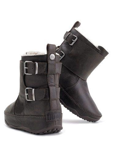 "FitFlop Byker Boot, $225, <a href=""http://www.islandtrends.com/fitflop-byker-boot-black-15636""target=""_blank"">islandtrends.com</a>"