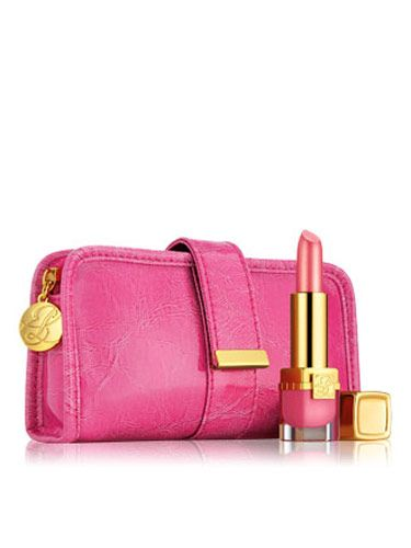 "<p><b>The Donation</b>: 20% of the retail price goes to The Breast Cancer Research Foundation.</p> <p>Elizabeth Hurley Pink Ribbon Collection, $24, <a href=""http://www.esteelauder.com/product/2653/17432/Product-Catalog/Whats-New/Just-Arrived/Makeup/Elizabeth-Hurley-Pink-Ribbon-Collection/index.tmpl""target=""_blank"">esteelauder.com</a></p>"