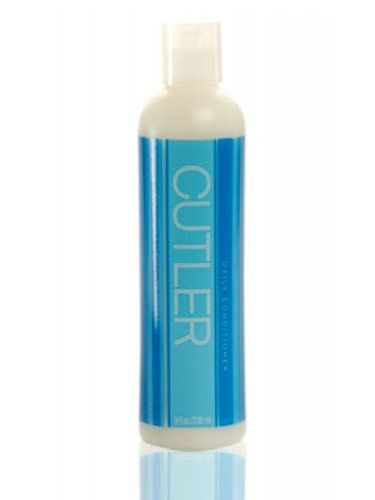 """Apply the conditioner to the bottom half of your hair before you shampoo,"" suggests Heather Packer, senior stylist at NYC's Cutler salon. ""This protects your ends from suds, which can be drying.""   <br /><br />  <p><b>Try</b>: Cutler Daily Conditioner, $15, <a href=""http://www.cutlersalon.com/""target=""_blank"">cutlersalon.com</a></p>"