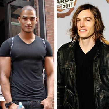Rob Evans (left) is a hunky boxer and model with an adorable British accent. Ian Mellencamp (rocker John Mellencamp's nephew) is a musician and model with a softer side.