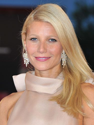 """We love Gwyneth Paltrow's sophisticated makeup, and it's all about the rose-colored lips. When you wear a great shade of lipstick, you really don't need anything else.  <br /><br /> <b>Key Product:</b> Chanel Rouge Coco Shine Lipstick in Boy, $32, <a href=""""http://www.chanel.com/en_US/fragrance-beauty/Makeup-Lipstick-ROUGE-COCO-SHINE-119570""""target=""""_blank"""">chanel.com</a>"""