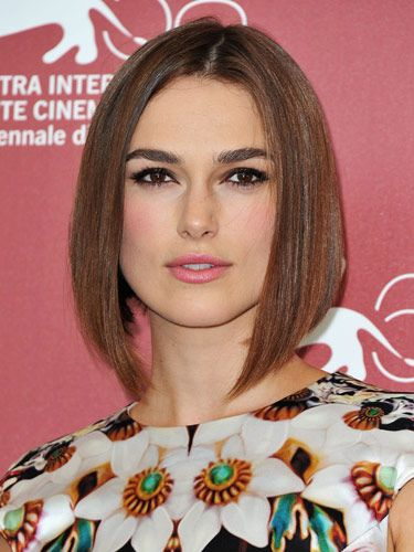 """There are a lot of things that make Keira Knightley's look awesome—from the sleek bobbed haircut, to the pop of pink blush to the gorge eyeliner. But it's her lashes that really set the tone. They make us want to break out the falsies!   <br /><br /> <b>Key Product:</b> Faux Lash Alexia, $16, <a href=""""http://fauxlash.com/collections/all/products/alexia""""target=""""_blank"""">fauxlash.com</a>"""