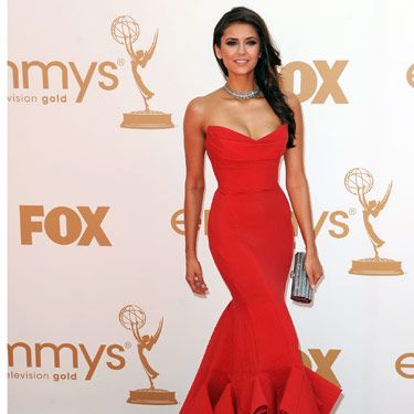 <i>The Vampire Diaries</i> star was the epitome of sexy in this body-hugging Donna Karan gown.