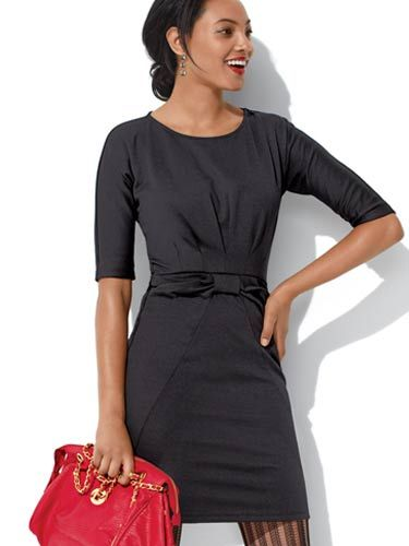 "A little black dress is always a good choice. To keep it from being too boring, look for one with some interesting details—like the pockets and bow accent here. Make sure it's not too clingy but still shows off your bod. <br /><br /> Modern Classic Dress, $44, <a href=""http://shop.meetmark.com/shop/product.aspx?src_page=product_list.aspx&level1_id=300&level2_id=469&pdept_id=487&dept_id=532&pf_id=42878""target=""_blank"">shop.meetmark.com</a>"