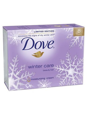 Regular bar soap can strip away your natural oils—which you really need, especially this time of year. This beauty bar (don't call it soap!) moisturizes as it cleans.