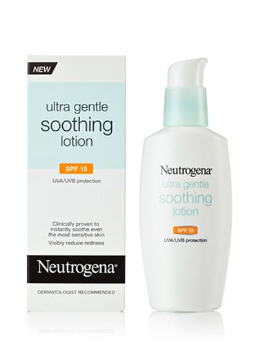 "UVA rays (the ones that cause wrinkles) can be even stronger in winter. Don't forget to wear sunscreen. Every. Single. Day. This one is also extra-gentle with SPF ingredients that won't bother your skin. <br /><br /> Neutrogena Ultra Gentle Soothing Lotion SPF 15, $15.99, <a href="" http://www.neutrogena.com/product/ultra+gentle+soothing+lotion+spf+15.do""target=""_blank"">neutrogena.com</a>"