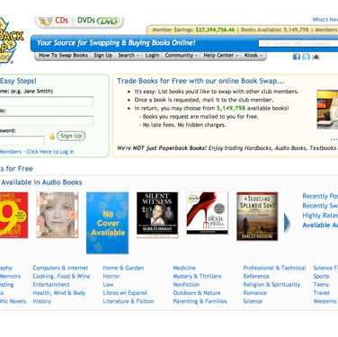 <b>You want to:</b> Revamp your book collection