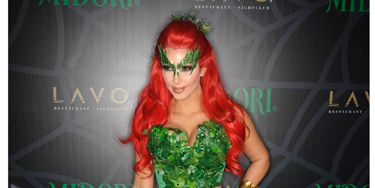 """Sometimes it's hard to tell if a celeb is dressed up for Halloween or, well, <a href=""""http://www.cosmopolitan.com/celebrity/fashion-faux-pas/celebrity-fashion-disasters"""">just poorly dressed</a>—but these stars were definitely rocking serious costumes. And we want to give a special nod to the cast of <i>Glee</i> for tweeting pics of their looks. If <a href=""""http://www.cosmopolitan.com/celebrity/exclusive/outrageous-halloween-ideas"""">this doesn't get you in the spirit</a>, nothing will! <br /><br />Kim Kardashian opted for a super-sexy look: Poison Ivy!"""
