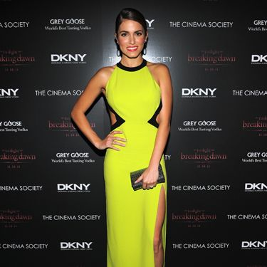 Neon? Check. Cut-outs? Check. Thigh-grazing slit? Check. Nikki's dress combined three great trends, and the result was spot-on.