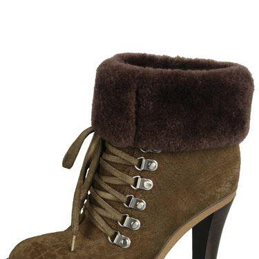 """Via Spiga Leya Bootie, $298, <a href=""""http://www.viaspiga.com/en-US/Content/women.aspx#/women/boots""""target=""""_blank"""">viaspiga.com</a>"""
