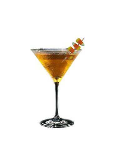 <br /><p><b>Ingredients:</b><br /> 1 oz Familia Camarena Reposado Tequila<br /> ½ oz butterscotch schnapps<br /> ½ oz Crème de Cacao<br /> 2 oz fresh orange juice<br /> 1 tsp dark cocoa<br /> 4 pieces candy corn<br /></p>  <p><b>Directions:</b><br /> Rim a martini glass with orange juice then cocoa powder.<br /> In a shaker, add tequila, butterscotch schnapps, crème de cocoa and orange juice.<br /> Add ice and shake well.<br /> Strain into prepared martini glass.<br /> Garnish with an orange wheel and toothpick of candy corn. <br /></p>