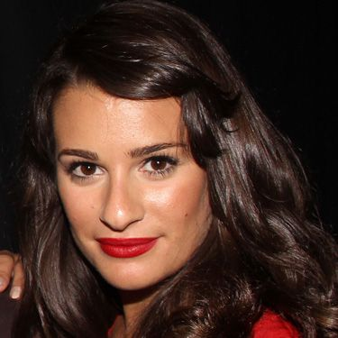 This is the easiest way to get your fringe off your forehead. Simply pin it to the side with a bobby pin (or a jeweled clip if you're feeling festive) for a pretty, retro style like Lea Michele's.