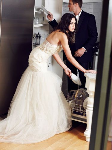"""""""He did the dishes. My hubby rocks!"""" —Debbi  <br /><br /><br /><br /><br /><br /><em>The models photographed in Cosmo are used for illustrative purposes only; Cosmopolitan does not suggest that the models actually engage in the conduct discussed in the stories they illustrate. </em>"""