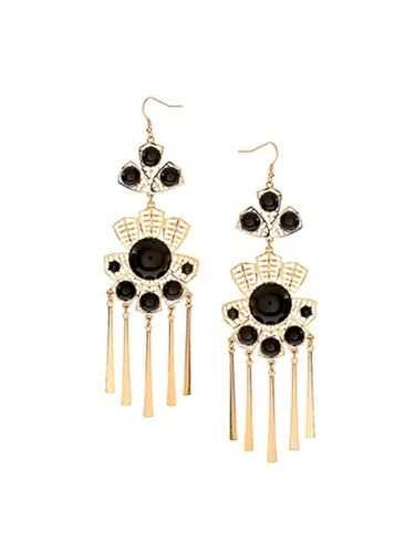 "<br /><br /> ASOS XL Leaf Filigree Stone Earrings, $23, <a href=""http://us.asos.com/ASOS/ASOS-XL-Leaf-Filigree-Stone/Prod/pgeproduct.aspx?iid=1764120&SearchQuery=filigree%20earrings&sh=0&pge=0&pgesize=20&sort=-1&clr=Multi""target=""_blank"">asos.com</a>"
