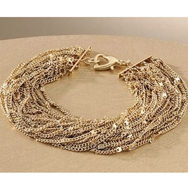 "<br /><br />Jennifer Lopez Gold Tone Multistrand Bracelet, $18, <a href=""http://www.kohls.com/kohlsStore/landingpages/jenniferlopez/jewelry/bracelets/PRD~891206/Jennifer+Lopez+Gold+Tone+Multistrand+Bracelet.jsp""target=""_blank"">kohls.com</a>"