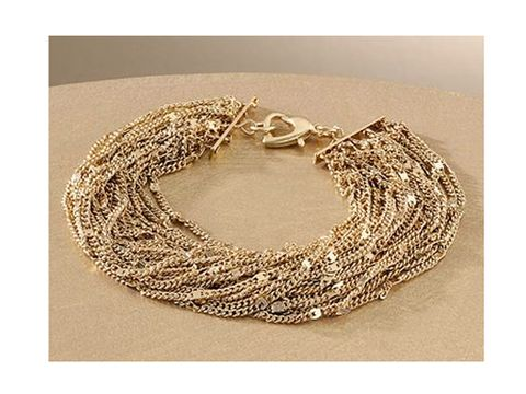 "<br /><br /> Jennifer Lopez Gold Tone Multistrand Bracelet, $18, <a href=""http://www.kohls.com/kohlsStore/landingpages/jenniferlopez/jewelry/bracelets/PRD~891206/Jennifer+Lopez+Gold+Tone+Multistrand+Bracelet.jsp""target=""_blank"">kohls.com</a>"