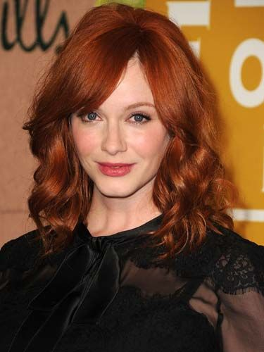 Crushing On Christina Hendricks S Crimson Strands Or Caught The A Href Http