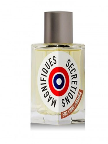 """<p>Blood, sweat, spit...<i>semen</i>?! That's precisely what some French perfumers wanted this """"raw"""" fragrance to evoke. Points for creativity, but we'll pass on any product with <i>secretions</i> in its name.</p> <p><a href=""""http://www.etatlibredorange.com/boutique/index.php/en/MAGNIFICENT-SECRETIONS.65"""" target=""""_blank"""">etatlibredorange.com</a></p>"""