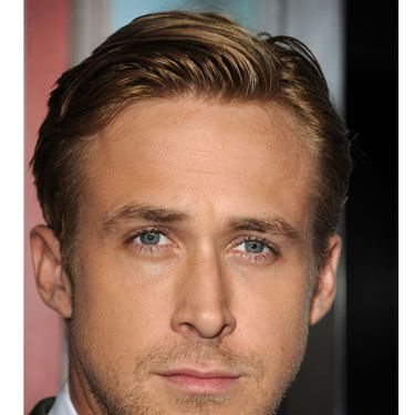 "No amount of your style input will make him look acceptable if he forgets about grooming. Would Ryan Gosling's appearance at <i>The Ides of March</i> premiere work without that hair? Nope. You can achieve a similar look by getting him to slick his hair to one side with a dime-size amount of pomade (finish with spray gel for a shiny look). For more formal hairstyle ideas, check out AskMen's guide, where <a href=""http://www.askmen.com/fashion/fashiontip_500/567_formal-hairstyles-for-men.html"" target=""_blank"">all the products are under $10</a> ."