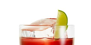 <i><br />1 oz. Alizé Red Passion<br /> ⅔ oz. lime juice<br /> 1 tbsp. cherry jam<br /> ⅔ oz. Silver Tequila<br /> Garnish: lime wedge<br /><br /></i> Shake all ingredients into a rocks glass filled with ice, and garnish with a lime wedge.
