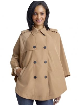 """The Limited Rain Cape, $98 <a href=""""http://www.thelimited.com/detail/trench-rain-cape/2105568"""" target=""""_blank"""">thelimited.com</a>"""