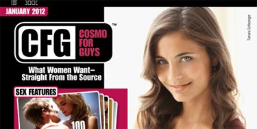 New year, new you, new issue of CFG! We've got a hot new lineup of stories packed with tips and tricks for how to please any woman, in and out of bed. Here's a taste of what you can look forward to in the first issue of CFG: Cosmo For Guys of 2012.