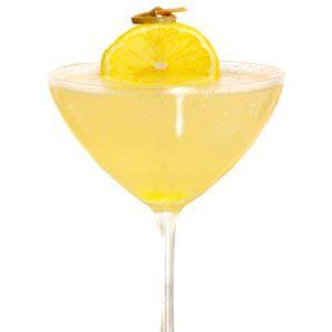 <i>2 oz. vanilla vodka<br />1 oz. vanilla schnapps<br />1 oz. apple juice<br />4 oz. lemonade<br />Garnish: sugared lemon slice</i><br /><br />Put all ingredients in a blender with a cup of ice, and blend until completely smooth. Pour into a glass, and garnish with slice of sugared lemon.<br /><br /><i>Source: Steven Kowalczuk, Room and Trois, Atlanta</i>