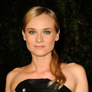 Diane Kruger nails the natural lip here, playing up her beauty with a pretty pout that won't stain a wine glass or a cute guy's cheek.