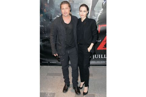 <p><b>Whether it was an accident or totally on purpose, these match-happy celebs gave us a serious case of double-vision.</b></p><br><p>Brangelina: The only couple that could make matching all-black outfits look like the most stunning ensembles we've ever seen.</p>