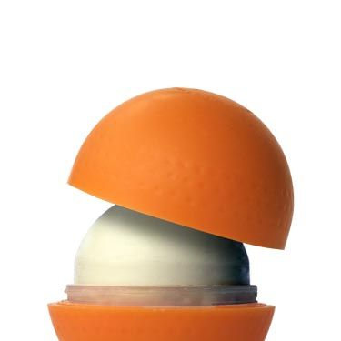 """He'll think it's for playing catch—or maybe a snack—so when you reveal that this orange ball is actually an all-natural, mineral-based SPF, he'll be so curious, he'll <i>want</i> to put it on. <br /><br />Own Products Active Block SPF30, $15, <a href=""""http://www.ownproducts.com/active-block-spf-30.html""""target=""""_blank"""">ownproducts.com</a>"""