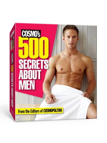 """As much as we love men, they can be pretty confusing at times. That's where <i>Cosmopolitan</i> comes in. We cover guys regularly in the magazine—their needs, behavior, and secret desires—and now we've compiled all our sexy know-how into quick, bite-size facts for you to have your fingertips. Think of it as your bible of everything guy-related. And when we say everything, we mean <i>everything</i>. <br /><br /> <a href=""""http://www.amazon.com/Cosmos-500-Secrets-About-Men/dp/1588169642/ref=sr_1_1?ie=UTF8&qid=1350931703&sr=8-1&keywords=500+Secrets+About+Men"""" target=""""_blank"""">Buy it now!</a>"""
