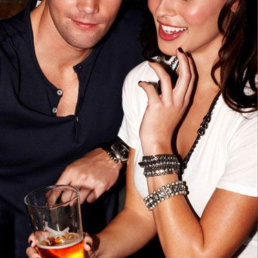 """""""I love that my girlfriend hates girly drinks. She usually only sticks to vodka on the rocks, tequila, or beer. There's something really bad-girl hot about it."""" &#151&#x3B;Antoine S.<br /><br /><br /><br /><br /><br /><em>The models photographed in Cosmo are used for illustrative purposes only&#x3B; Cosmopolitan does not suggest that the models actually engage in the conduct discussed in the stories they illustrate. </em>"""