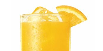 <i>1½ oz. tequila<br /> 1 oz. Cointreau<br /> ½ oz. lime juice<br /> 1 oz. blood orange juice<br /> Dash of simple syrup<br /> Garnish: orange slice</i><br /><br />  To make simple syrup, mix equal oz. hot water and sugar until sugar is dissolved. Combine ingredients in a shaker, shake vigorously and strain into a tall glass filled with ice. Garnish with an orange slice