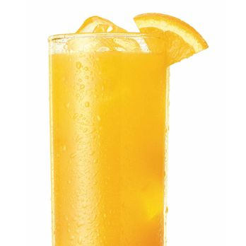 <i>1½ oz. tequila<br />1 oz. Cointreau<br />½ oz. lime juice<br />1 oz. blood orange juice<br />Dash of simple syrup<br />Garnish: orange slice</i><br /><br />To make simple syrup, mix equal oz. hot water and sugar until sugar is dissolved. Combine ingredients in a shaker, shake vigorously and strain into a tall glass filled with ice. Garnish with an orange slice