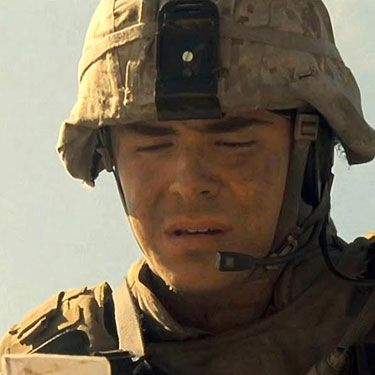 Zac plays a (hot, naturally) Marine who finds a woman's picture during a tour of duty in Iraq and tracks her down once he gets back to the States.