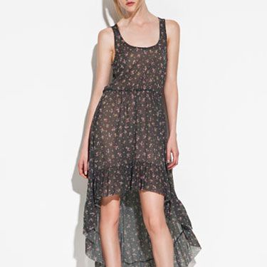 We love this Stevie Nicks-esque style frock. Perfect for a picnic in the part with your girlfriends or your guy.