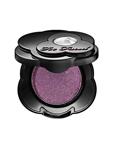 <b>The Mood:</b> Playful<br /> <b>The Look:</b> A vivid, orchid-colored eye shadow, sheared out over your eyelid and softly shaded toward the crease. Move over blacks and browns, purple reigns this season. Try Too Faced Eyeshadow