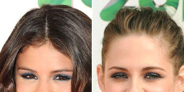 Celebs like Selena Gomez and Kristen Stewart have been seen wearing this sultry shade and we're not surprised. This midnight blue hue is a fresh twist on a traditional gray smoky shade—plus, the dark-as-night color makes the whites of your eyes stand out even more so they demand his attention that much quicker.