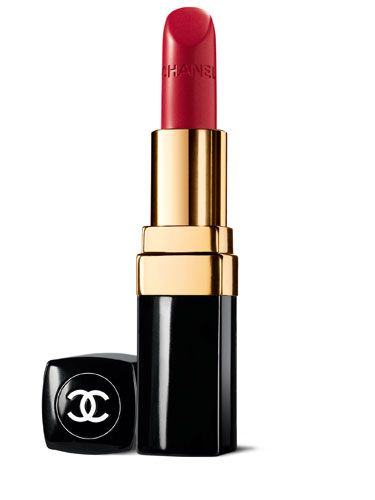 """<p>Studies show that men fixate on red more than any other hue women wear. (That explains why Marilyn Monroe always wore this crimson shade.)</p> <p>Try Chanel Rouge Coco Hydrating Crème Lip Colour in Gabrielle, $32.50, <a title=""""chanel"""" href=""""http://www.chanel.com/en_US/fragrance-beauty/Makeup-Lipstick-ROUGE-COCO-88973"""" target=""""_blank"""">chanel.com</a>.</p>"""