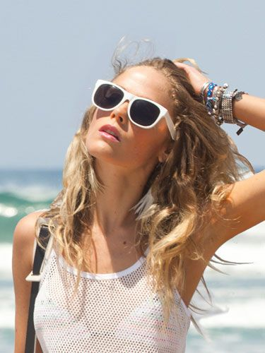 Always wear UV 400 blocking sunglasses. There's new research that shows even eyes can be sunburned causing lots of damage.
